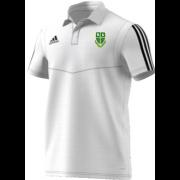 Bawtry CC Adidas White Polo Shirt