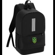 Bawtry Cricket Club Black Training Backpack