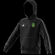Bawtry CC Adidas Black Junior Fleece Hoody