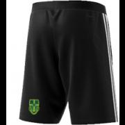 Bawtry CC Adidas Black Training Shorts
