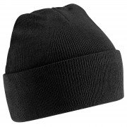 University of Central Lancs Black Beanie