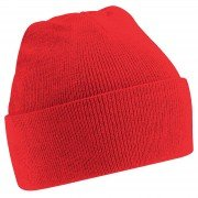 Ashton CC Red Beanie