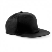 University of Central Lancs Black Snapback Hat