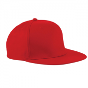 Ashton CC Red Snapback Cap