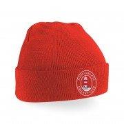Happisburgh CC Red Beanie