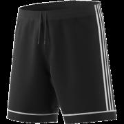 St Asaph CC Adidas Black Junior Training Shorts