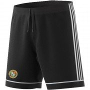 Streatham and Marlborough CC Adidas Black Junior Training Shorts