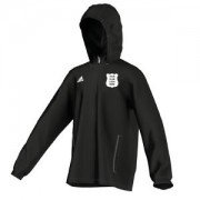 Burscough CC Adidas Black Rain Jacket