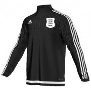 Burscough CC Adidas Black Training Top