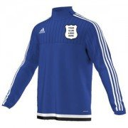 Helperby CC Adidas Blue Training Top