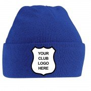 Goring-By-Sea CC Blue Beanie