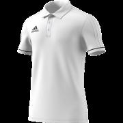 Nowton CC Adidas White Polo