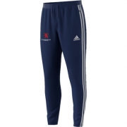Burbage and Easton Royal CC Adidas Navy Training Pants