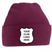 Rowntrees and Huntington CC Maroon Beanie