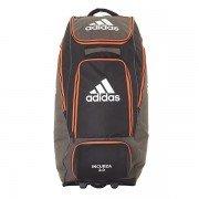 2021Adidas Incurza 2.0 Wheelie Duffle Bag - Black/Orange