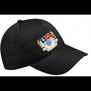 Gravesend CC Black Baseball Cap