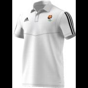 Catherine De Barnes CC Adidas White Polo Shirt