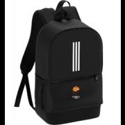 Catherine De Barnes Cricket Club Black Training Backpack
