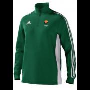 Catherine De Barnes CC Adidas Green Training Top