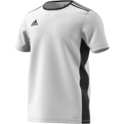 Freckleton CC Adidas White Junior Training Jersey