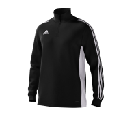 Old Merchant Taylor CC Adidas Black Junior Training Top
