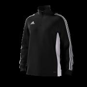 Old Merchant Taylor CC Adidas Black Junior Training Top