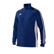 Bishopthorpe CC Adidas Blue Junior Training Top
