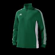 Loughborough Greenfields CC Adidas Green Junior Training Top