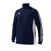 Burton Leonard CC Adidas Navy Training Top