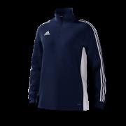 Burnley CC Adidas Navy Training Top