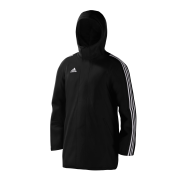 Burscough Cricket Club Black Adidas Stadium Jacket