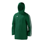 Great Habton Cricket Club Green Adidas Stadium Jacket