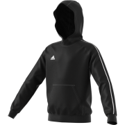Luton Town & Indians CC Adidas Black Junior Fleece Hoody