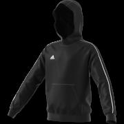 Abergele CC Adidas Black Junior Fleece Hoody