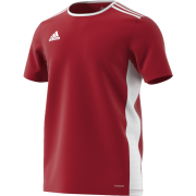 Darcy Lever CC Adidas Red Junior Training Jersey