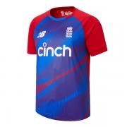 2017 New Balance England T20 Replica Cricket Shirt
