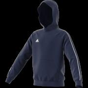 Llangwm CC Adidas Navy Fleece Hoody