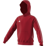 Darcy Lever CC Adidas Red Junior Hoody