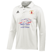 Darcy Lever CC Adidas Elite L/S Playing Shirt