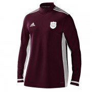 Old Buckenham CC Adidas Maroon Training Top