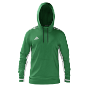 Marchwiel and Wrexham CC Adidas Green Hoody