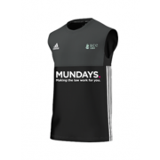 Effingham CC Adidas Black Training Vest