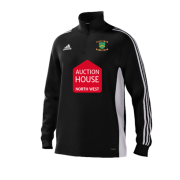 Euxton CC Adidas Black Junior Training Top