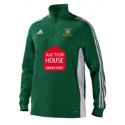 Euxton CC Adidas Green Junior Training Top