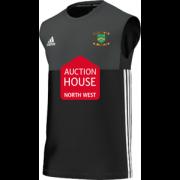 Euxton CC Adidas Black Training Vest