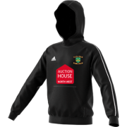 Euxton CC Adidas Black Junior Fleece Hoody
