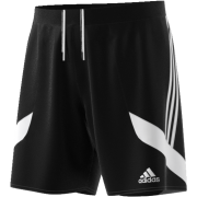 Thixendale CC Adidas Black Junior Training Shorts