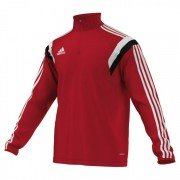 Featherstone Town CC Adidas Alt Red Training Top