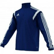 Alnwick Cricket Club Adidas Alt Navy Junior Training Top