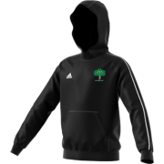 Hillam & Monk Fryston CC Adidas Black Junior Fleece Hoody